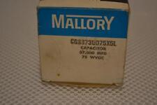 ONE NEW MALLORY CAPACITOR CGS373U075X5L.