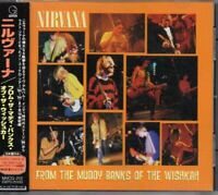 Nirvana ‎From The Muddy Banks Of The Wishkah JAPAN CD with OBI MVCG-212