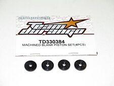 NEW Team Durango Piston Set Machined Blank DNX408 (4) TD330384