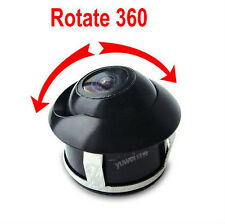 Car SUV Rear Front Sides Parking 360 Degree Rotatable Reversible Video Camera