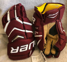 "Bauer Supreme TotalOne NXG Hockey Gloves; Senior; Size 14"""