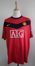 Nike GIGGS 11 MANCHESTER UNITED Home Football Champions Shirt 2009-10 Rouge XXXL