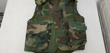 Military Issued Woodland Flak Jacket-S