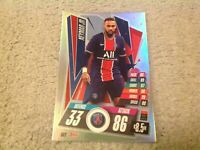 MATCH ATTAX 2020/21 NEYMAR JR PSG OVERSIZED FOIL CARD RARE XL OS2 MINT POST FREE