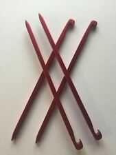 Tarp Nails x 4, Tent Pegs, Stake Pins 15.5cm, 10g Alloy, ideal for stoney ground