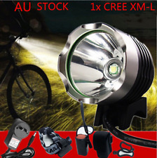 CREE XML T6 LED MTB Front Mountain Bike Headlight Head Torch Recharegable Light