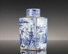 Museale Porzellan Teedose China 18./19. Jahrhundert Deckelvase