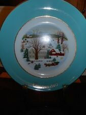 Avon Products Christmas 1973 Plate By Enoch Wedgwood, England First Edition