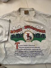vintage rocky and bullwinkle shirt extra large