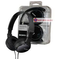 Sony MDR-ZX110 Stereo Monitor Foldable Headband Overhead 3.5MM MP3 Headphones