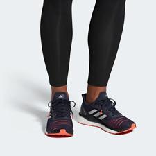 Adidas Para Hombre refuerzo de Unidad solar Calzado para Correr D97451 Azul/Naranja Reino Unido 8, 9, 11.5