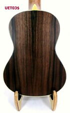 Loopy Solid Sprce Ebony Back Tenor Ukulele Cat Inlay Satin Finish UET03$