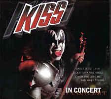 Kiss-In Concert cd Album digipack