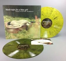 """Black Tape For A Blue Girl """"These Fleeting Moments"""" Colored Vinyl New 2xLP"""