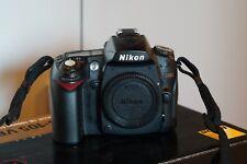 Nikon D D90 12.3MP Digital-SLR DSLR Camera (Camcorder) - Body only - BLACK