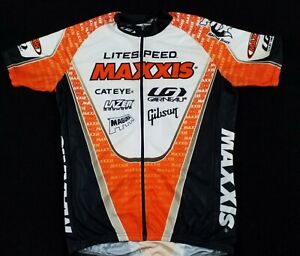 Cycling Shirt jerey LOUIS GARNEAU sz Medium Litespeed MAXXIS