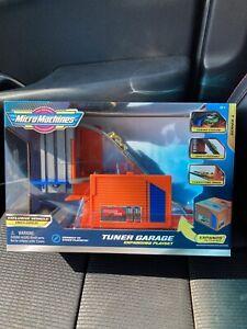 Hasbro Micro Machines Tuner Garage Expanding Playset Rare!!* New In Box 2020*