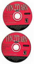 Kids Fun 2 Learn Cd-Rom Set of 2 (2001)