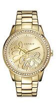 Runde Esprit Armbanduhren aus Edelstahl mit 12-Stunden-Zifferblatt