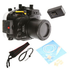 40M 130ft Underwater Waterproof Housing Diving Case Fr Panasonic GH5 DSLR Camera