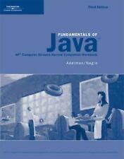 Activities Workbook for Lambert/Osborne's Fundamentals of Java: AP Computer Scie