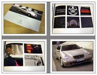 Mercedes Benz E-Klasse Typ 210 Limousine technische Vorstellung Broschüre