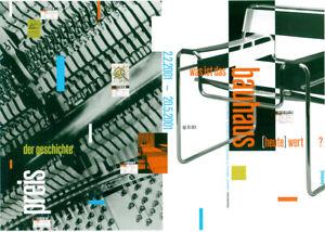 Plakat - Bauhaus Dessau - Was ist das Bauhaus (heute) wert? / Breuer Sessel