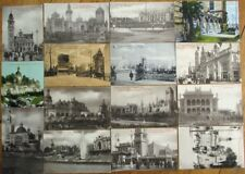 Exposition Universelle de Bruxelles 1910 GROUP FIFTEEN Postcards - Brussels Expo