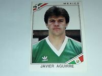 FIGURINA PANINI MEXICO 86 n°122 AGUIRRE MEXICO rec WORLD CUP