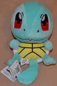 "5.5"" Squirtle # 007 Plush Dolls Toys Stuffed Animals Pokemon Water 2014 Ver. 2"