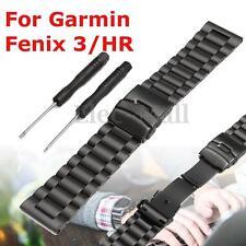 2017 Metal Stainless Steel Bracelet Watch Wrist Band Strap for Garmin Fenix 3/HR