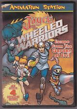 Jayce and the Wheeled Warriors Escape from the Garden of Evil DVD 4 episodes