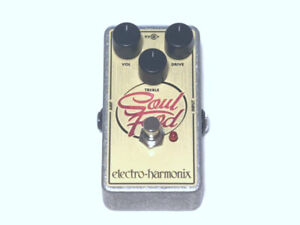 Used Electro-Harmonix EHX Soul Food Distortion Fuzz Overdrive Effects Pedal
