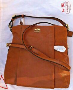 GENUINE - COACH - HAND BAG - TAN