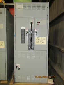 ASCO 962 2000 AMP TRANSFER & BYPASS SWITCH G9623200097XC