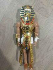 Giant 30cm Gold Ramses Hybrid Pictures, Playsoft 1998, Giochi Preziosi figure.
