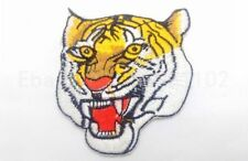 New Tiger ANIMAL Embroidered Iron On Applique Patch Forest Animals Free shipping
