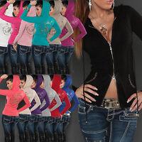 SEXY WOMEN CARDIGAN JACKET SIZE 6 8 10 12 LADIES PULLOVER SWEATER DRESS JUMPER S