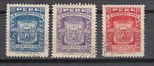 Peru 1932 Centenario Piura - used (88-96a)