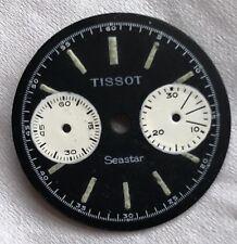 Tissot Seastar Chronograph mens wristwatch dial 26,5 mm. in diameter