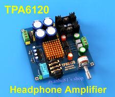 Audiophile-niveau hifi TPA6120 amplificateur de casque amp board diy kit dual 12V-20V