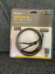 Targus Defcon KL Anti-Theft Cable Lock Laptop Security Cable Computer PC Chain