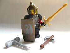 Lego Custom KNIGHT PALADIN Templar Minifigure with Custom Weapons and Armor