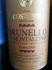 6 BT. BRUNELLO DI MONTALCINO RISERVA 2010 CONTI COSTANTI