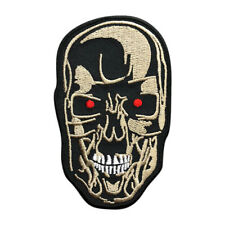 Terminator Head Judgement Day Cyberdyne Arnold Iron on Patch