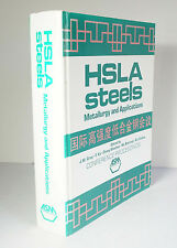 HSLA Steels: Metallurgy and Applications 1986 Metals Microalloys 115 Articles