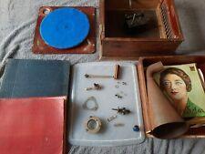 Lot Phonographe +piece Avec Disques