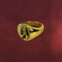 ANELLO RING HARRY POTTER SILENTE COSPLAY GRIFONDORO GRYFFINDOR RON HERMIONE #2