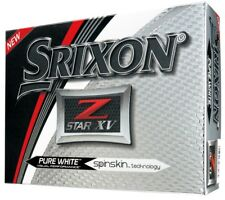Srixon Golf Z Star XV 5 Pure White Golf Balls 1 Dozen 2018