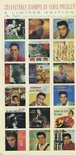 Elvis Presley - Collectible Stamps of 1950's RCA Records Label Covers